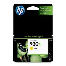 HP 920XL High Yield Yellow Original Ink Cartridge (CD974AN), Yield 700 - $35.59