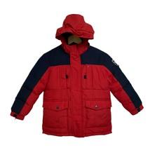 Tommy Hilfiger boys warm winter jacket hoodie full zip pockets size XS (... - $29.48