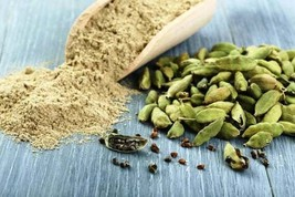 Ceylon Organic Herbal Cardamom Powder 50g - Sri Lanka Reg Post Tracking - $11.39