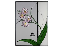 Silver Creek Asian Style Orchid Right With Words Long Life, W-316 - €56,33 EUR