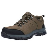 CAMEL CROWN Mens Hiking Shoes Low Cut Boots Leather Walking Shoes for Ou... - $70.04