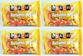 4x 20oz BAG BRACH'S AUTUMN MIX MELLOWCREME CANDY CORN PUMPKINS HARVEST corn NEW image 1