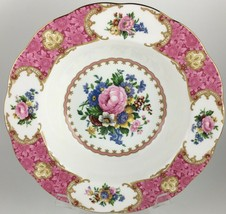 Royal Albert Lady Carlyle Rimmed soup bowl  - $15.00