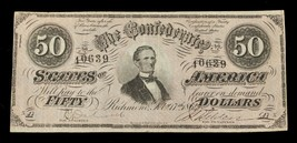 1864 Confédéré Note T-66 Fin État - $98.98