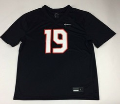 Nike Stock Legend Training Practice Football Jersey Men's Large Black #1... - $19.30