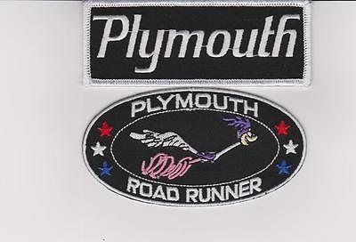 1969 PLYMOUTH ROADRUNNER SEW/IRON ON PATCH EMBLEM BADGE EMBROIDERED 383 MAGNUM