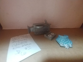 Barbie Generation Girl Actress-- Accessories Video Camera and Necklace 1998 - $6.50