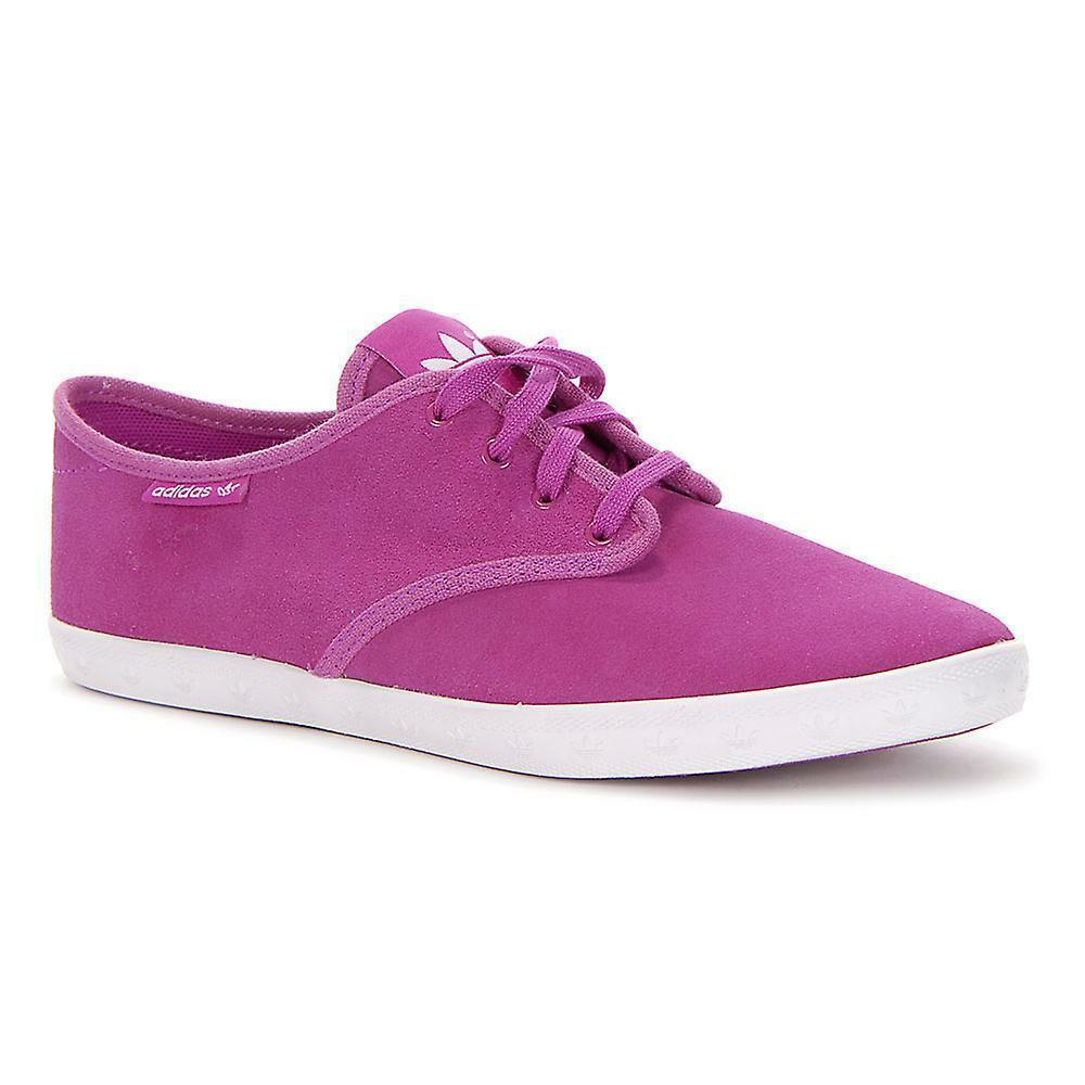 Adidas Originaux Femmes Adria Ps Baskets Femmes Chaussures Tennis - Vif Rose image 4