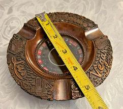 Las Vegas Roulette Wheel Ashtray Souvenir made Japan Vintage cigarette ashtray  image 4
