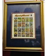 LEGENDS OF BASEBALL STAMP SHEET SET w/ GOLD FRAME #3408 USPS Mint Origin... - $16.78