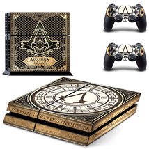 Assassins creed syndicate ps4 decal sticker for console & controllers skin - $15.00
