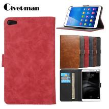 Civetman® Luxury Retro Crazy Horse Smart Protective PU Leather Cover - $15.53+