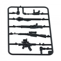 Custom army military guns weapons pack for lego minifigures minifig accessories set a 4 thumb200