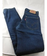 Levis 510 Kids Super Skinny Jeans Size 12 Regular 26 x 26.5 Blue Cotton ... - $18.80