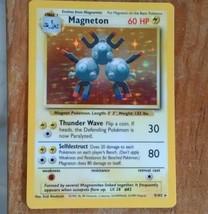 1999 Pokemon Magneton holo card. #9/120 GOOD CONDITION - $9.90