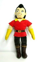 "Disney Store Beauty And The Beast Gaston Large 21"" Inch Plush Villain Doll - $36.03"