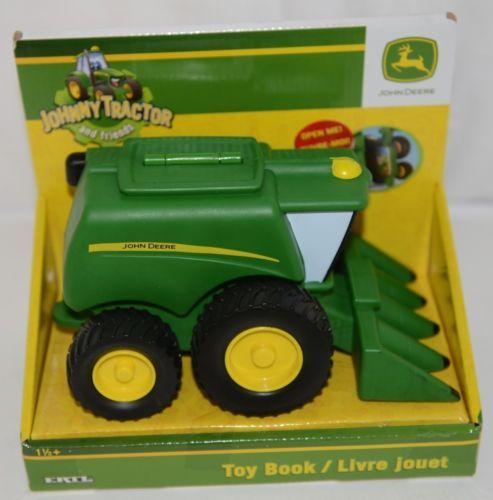 John Deere LP51323 Corey Combine Toy Book Rolling Wheels