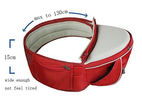 SUNVENO Baby Hipseat Carrier 3 in1 Comfort Ergonomic Waist Stool Baby Carrier Hi
