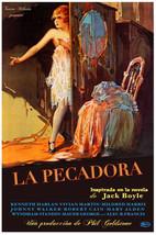 Cuban Movie Poster.La PECADORA.Vintage Decoration & Design art DECOR. 67i - $10.89+