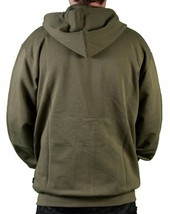 Wesc Banana's Icon Ivy Green Zip Up Hoodie XL Hooded Sweater NWT image 2