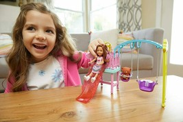 Barbie Club Chelsea Doll and Swingset Playset - $45.01