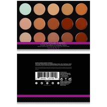 SHANY Professional Cream Foundation and Camouflage Concealer - 15 Color ... - $48.07