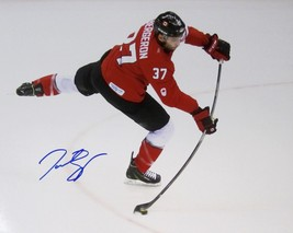 Patrice Bergeron Autographed 2014 Sochi Olympics 11x14 Photo Coa Boston Bruins - $84.99