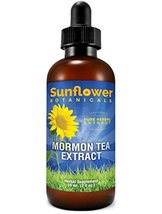 Sunflower Botanicals Mormon Brigham Tea Extract, 2 oz. Glass Dropper-Top Bottle, image 3