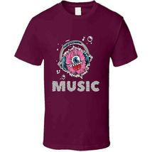 Monster Music Head Phones T Shirt image 3