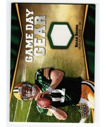 Brian Broom 2009 Upper Deck Game Day Gear NFL-BB Jersey Card Packers - $3.00