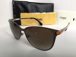 New FENDI FF 0022/S 7WFHA 57mm Gray Designer Women's Sunglasses - $259.99