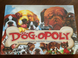 Dog-opoly Board Game Brand New Sealed Tail Wagging Good - $17.32