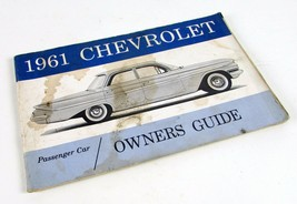 Vintage 1961 Chevrolet Passenger Car Original Owners Manual - $5.66