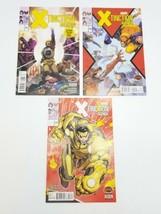 X-Tinction Agenda 1 2 3 Set Secret Wars Marvel Comic Book Lot August 2015 - $9.74