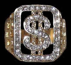 Ring dollar sign black thumb200