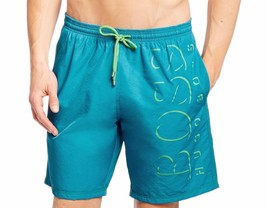 NEW MEN'S HUGO BOSS LOGO PREMIUM KILLIFISH SWIM QUICK DRY BOARD SHORTS OPEN BLUE