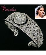 Arkle wedding tiara queen mary tiaras rhinestone crystal royal queen crown bridal hair thumbtall