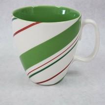 Starbucks Holiday 2007 Candy Cane Striped Coffee Mug - $9.89