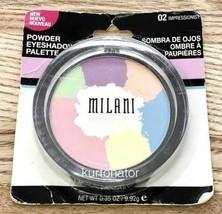 Milani #02 Impressionist Powder Eyeshadow Palette New - $9.89
