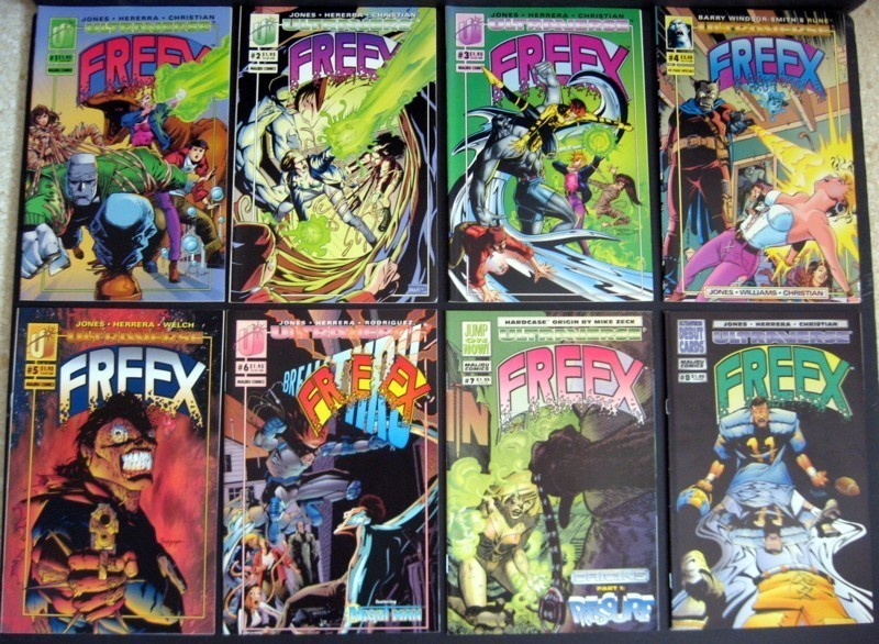 Primary image for Freex #1-18, Giant- Size #1 Complete Run Malibu Ultraverse
