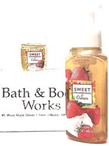 Bath and Body Works Sweet Strawberries & Cream Hand Soap & PocketBac Ret... - $20.22