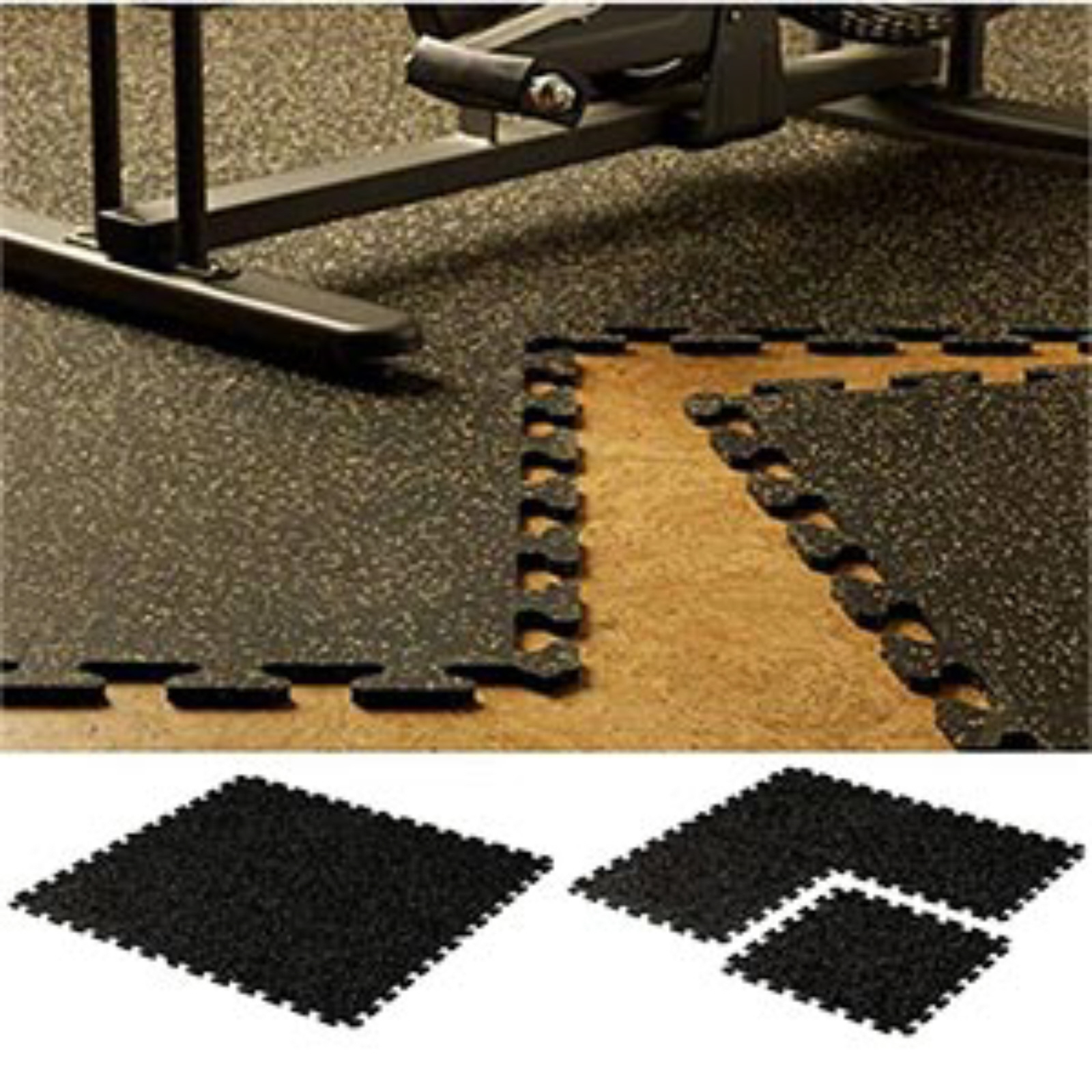 Ez-Flex Interlocking Rubber Floor Tiles