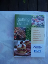 DVD Getting Started Diabetes Food and Nutrition Starter Kit - $4.99