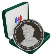 Dominican Republic 1 Peso, 19.84g Copper/Nickel Coin,1992,KM#82,Mint,500... - $99.99