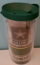 Tervis U.S. ARMY Forever Proud Wrap With Travel Lid 16 oz NEW - $17.35