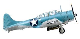 Academy 12335 USN SBD-2 Battle of Midway Plamodel Plastic Hobby Model Airplane image 4