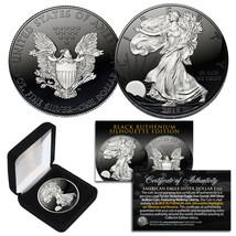 Black RUTHENIUM SILHOUETTE 1 Troy Oz US Mint 2018 American Silver Eagle ... - $51.38