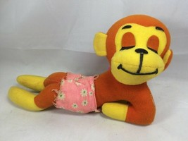 Rare Vintage 1977 Dream Pet - Lazy Monkey R. Dakin & Company - $9.75