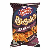 6 Bags Humpty Dumpty Ringolos Bbq Large Size 280g From Canada Fresh & Tasty! - $41.29