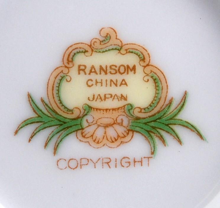 Ransom China Creamer Made in Japan Rns21